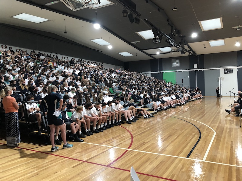 First assembly for 2021